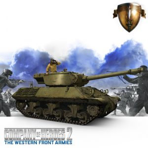 CoH 2 M36 Jackson Tank Destroyer