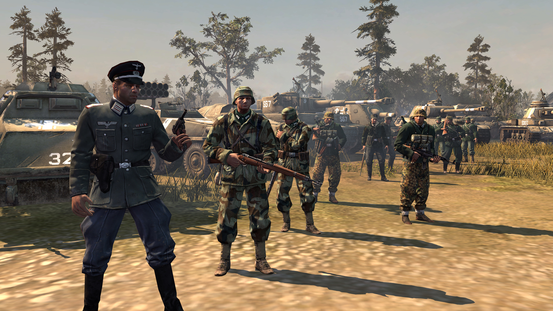 Company of heroes german campaign cutscenes download