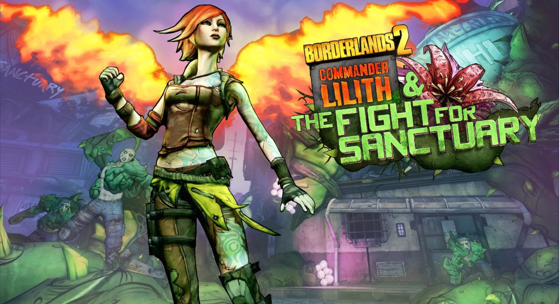 Borderlands 2 - Commander Lilith & der Kampf um Sanctuary