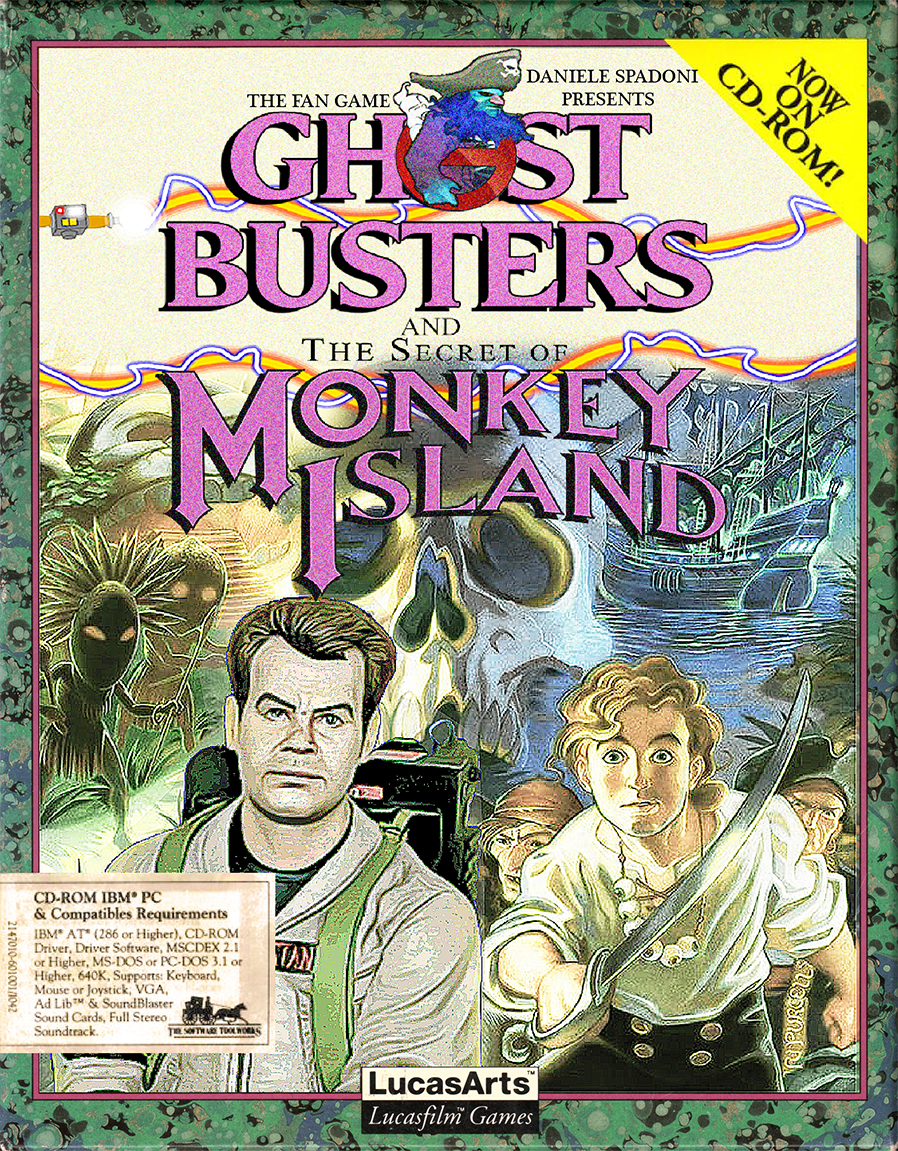 Ghostbusters and the Secret of Monkey Island