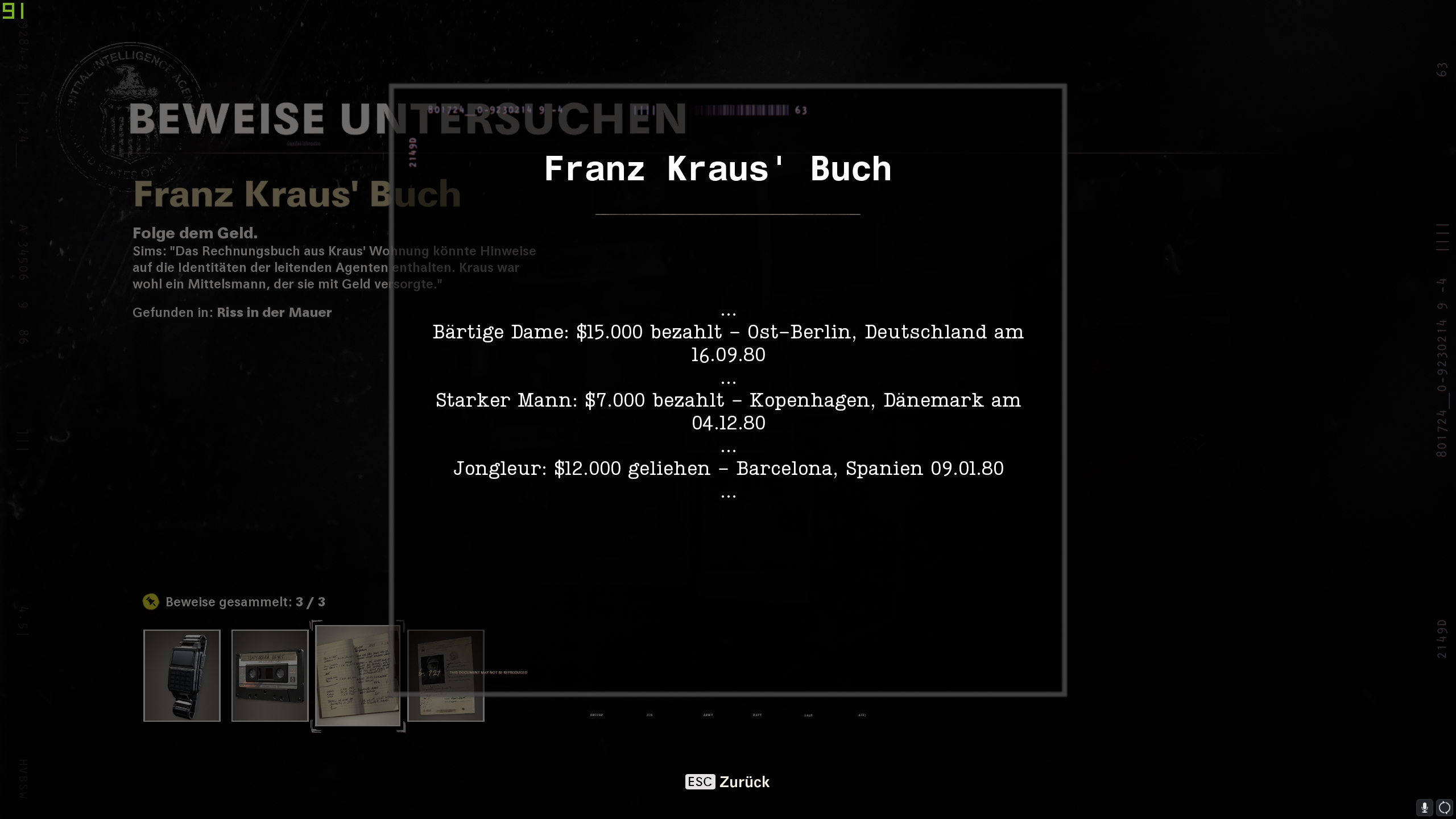 Call of Duty Black Ops Cold War - Operation Roter Zirkus - Buch