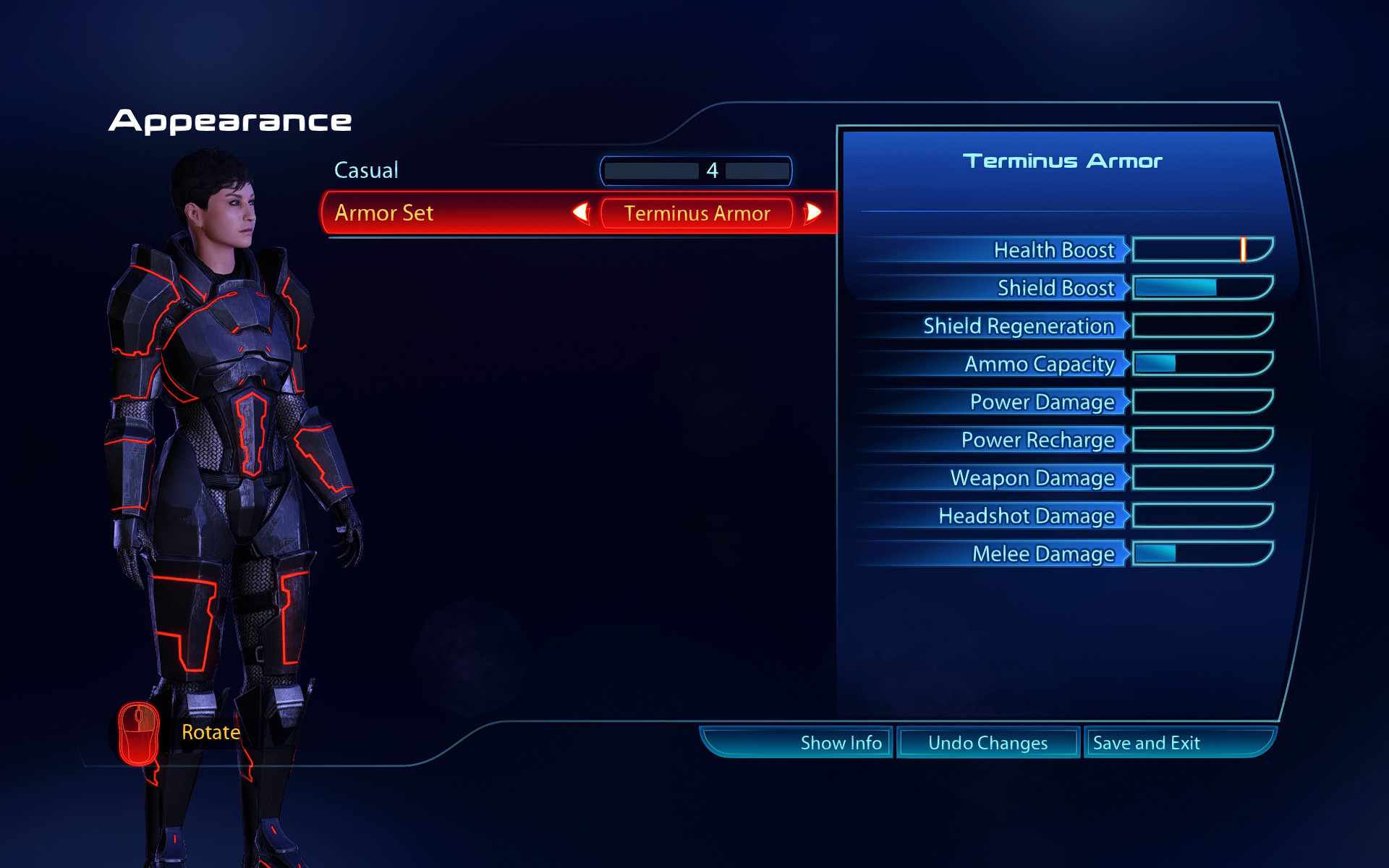 ME3LE Full set armors without helmets